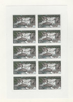 Slovakia, Postage Stamp, #379 Mint NH Sheet, 2001 River