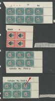 South Africa , Postage Stamp, # Specialized Lot of Cylinder Blocks Mint NH & LH