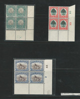 South Africa , Postage Stamp, #6926/6935 (3) Control Blocks Mint NH