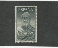 Spain, Postage Stamp, #C145 Used, 1953