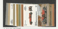 St. Vincent Grenadines, Postage Stamp, #91//127 Pairs Mint NH, Automobiles