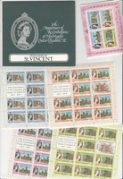 St. Vincent Grenadines, Postage Stamp, #153-156a Mint NH Folder, 1978