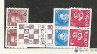 Sweden, Postage Stamp, #1442-1445 Pairs Mint NH, 1983-85 Chess