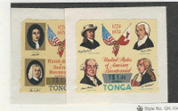 Tonga, Postage Stamp, #C236-7 Mint NH, 1978 USA Flag, Bicentennial