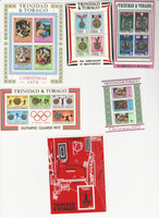 Trinidad & Tobago, Postage Stamp, #194b, 222a, 238a, 227, 230, 232 Mint NH (p)