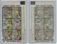 R53 Fleer, Funnies Wrappers, 1940's, #245 Lunch
