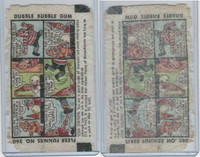 R53 Fleer, Funnies Wrappers, 1940's, #260 Fortune Teller