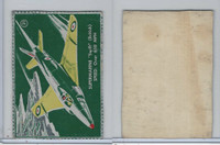 F332 Good Luck Margarine, Airplanes, 1952, #21 Supermarine Swift, British