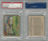 T69 Helmar, Historic Homes, 1910, Foster Homestead, Pittsburgh, PSA 5 EX