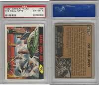 1962 Bubbles Inc., Mars Attacks, #26 The Tidal Wave, PSA 6 EXMT