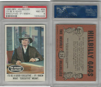 1963 Topps, Beverly Hillbillies, #24 I'd Be A Good Executive, PSA 8 NMMT