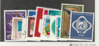 United Nations - Geneva, Postage Stamp, #1-14 Mint NH, 1969-70