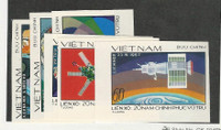 Vietnam North, Postage Stamp, #955a-960a Imperf Mint NH, 1978 Space