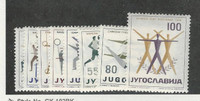 Yugoslavia, Postage Stamp, #547-554 Mint LH, 1959 Sports