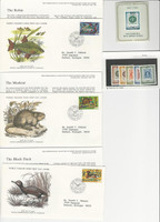 Yugoslavia, Postage Stamp, #816-21 MInt NH, 1296, 1298-99 FDC, 1966-76 Fish