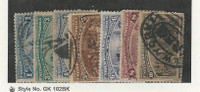 United States, Postage Stamp, #230, 232-237 Used, 1893 Columbus