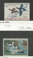 United States, Postage Stamp, #RW36-RW37 Used, 1969-70 Duck Hunting Permit