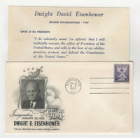 United States, Postage Stamp, # Cover Eisenhower Inauguration 1953 (A)