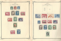 Aden & States Collection 1937-1954 on 8 Scott Specialty Pages