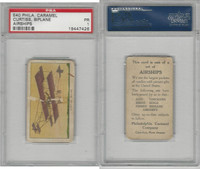 E40 Philadelphia Caramel, Airships, 1911, Curtiss - Biplane, PSA 1