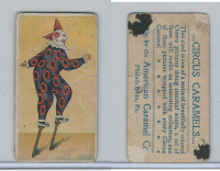 E43 American Caramel, Circus, 1911, Clown on Stilts