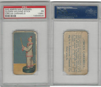 E43 American Caramel, Circus, 1911, Clown with Wand, PSA 1 MK