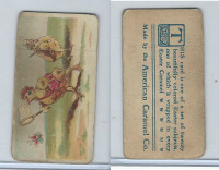 E45 American Caramel, Easter Subjects, 1920's, Chick Chasing Butterfly