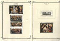 Aitutaki Collection 1973 to 1983 on 20 Scott Specialty Pages, Mint Sets