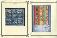Aitutaki Collection 2012 to 2013 on 6 Scott Specialty Pages, Mint NH Sets