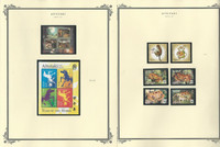 Aitutaki Collection 2012 to 2015 on 8 Scott Specialty Pages, Mint NH Sets