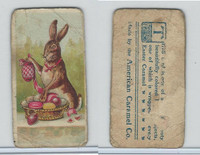 E45 American Caramel, Easter Subjects, 1920's, Rabbit Prepping Basket