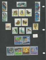 New Zealand Collection on 4 Pages, Mint NH Stamps & Sets (C)
