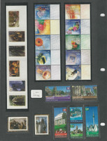 New Zealand Collection on 4 Pages, Mint NH Stamps & Sets (H)