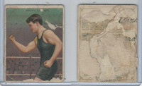 T219 Honest Long Cut Champion Pugilists, 1910, Matty Baldwin, Boxer