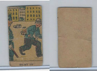W539 Strip Card, Charlie Chaplin, 1920's, Beat It