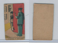 W539 Strip Card, Charlie Chaplin, 1920's, Cheese It The Cop