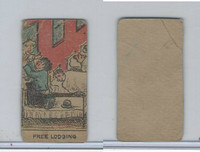 W539 Strip Card, Charlie Chaplin, 1920's, Free Lodging