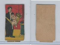 W539 Strip Card, Charlie Chaplin, 1920's, Lunch Hour