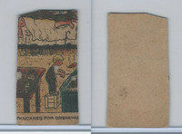 W539 Strip Card, Charlie Chaplin, 1920's, Pancakes For Breakfast