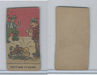 W539 Strip Card, Charlie Chaplin, 1920's, Putting It Over