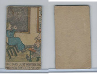 W539 Strip Card, Charlie Chaplin, 1920's, She Has Just Written