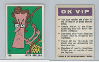1973 Panini, OK VIP Sticker, #130 Peter Sellers, Actor