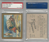 T57 Turkish Trophies, Fable Series, 1910, Hercules & The Wagoner, PSA 5 EX