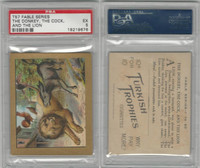 T57 Turkish Trophies, Fable Series, 1910, The Donkey, the Cock, PSA 5 EX