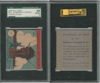 R12 WS Corp, America at War, 1942, #531 Submarine Conning, SGC 88 NMMT