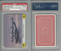 R112-3a Leaf, Card-O Aeroplanes - Series B, 1940's, Dornier DO24, PSA 9 Mint