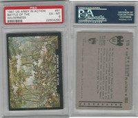 1961 Rosan W528-2, The U.S. Army In Action, #61 Battle Wilderness, PSA 6 EXMT