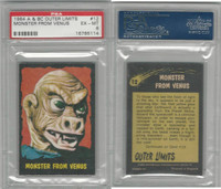 1964 A & BC, Outer Limits, #12 Monster From Venus, PSA 6 EXMT