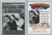 1997 Duocards, Three Stooges, #20 First Film
