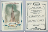 2012 Topps Allen & Ginter, World Tallest Buildings, #WTB1 Burj Khalifa, Dubai